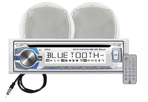Dual MCP420BT AM FM CD Stereo Package