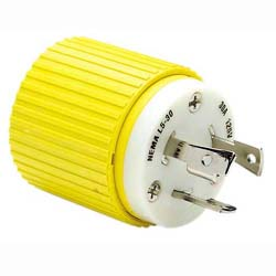 Hubbell HBL305CRP 30A Male Plug