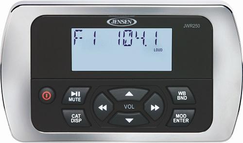 Jensen JWR250 Wired Remote For JMS2214BT