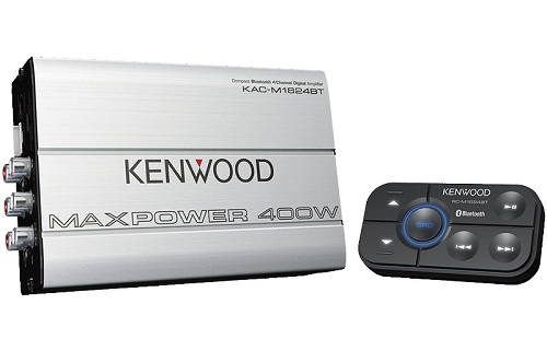 Kenwood KAC-M1824BT Amplifier 400W Class D Bluetooth