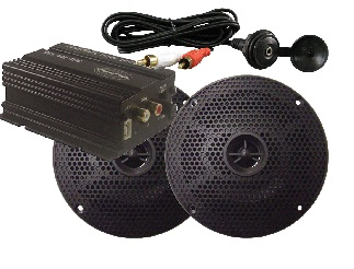 Millenia MA100PKG Package MP3 Kit With Amp And Speakers