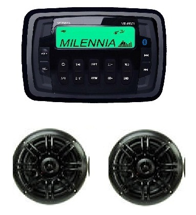 Millenia MPK21 Package PRV21 And SPK652B Speakers