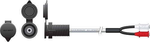 Marine Audio 3.5MM Aux In Jack