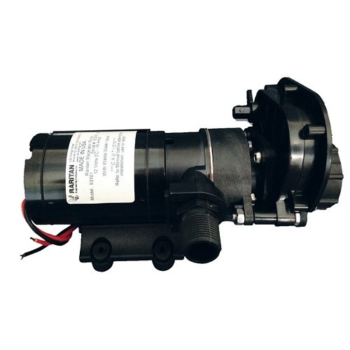 Raritan 24v Macerator Pump With Waste Valve