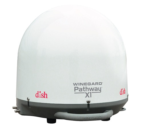 Winegard Pathway X1 Dish Portable Dome And Receiver