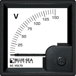Blue Sea Systems DIN Voltmeter AC 0-150V