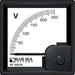 Blue Sea Systems DIN Voltmeter AC 0-250V