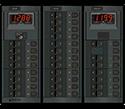 Blue Sea Systems 360 AC DC, Rckr Sw Brkrs, 2 Dig Mtr 230V