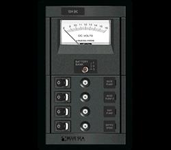 Blue Sea Systems 360 DC, Reset w- 4-15A, Sw, V-Mtr,  Ver