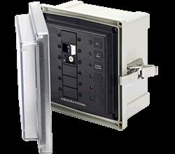 Blue Sea Systems Enclosure SMS Panel 120VAC ELCI 30A