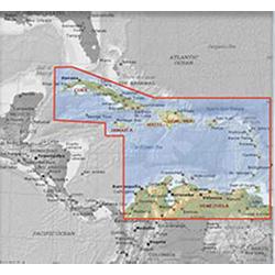 Furuno MM3 Chart, Caribbean