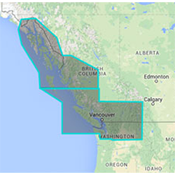 Furuno MM3 Chart, Canada, West