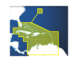 Furuno MM3 Chart, Bahamas, Carib, Bermuda