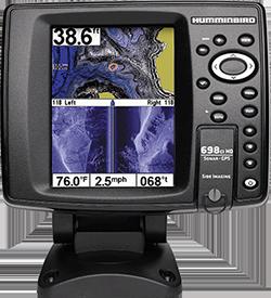 Humminbird 698ci HD SI Combo, Side Imaging
