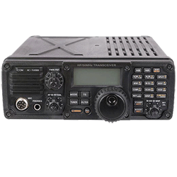 Icom IC-7200 02 HF 50MHz Transciever w IF DSP