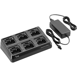 Icom 6-Unit Charger Kit for IC-M88