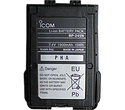 Icom Li-Ion Battery Pack for M72 - M73