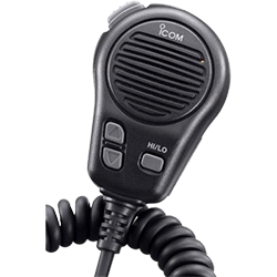 Icom Microphone w- plug, for M504-604, Black