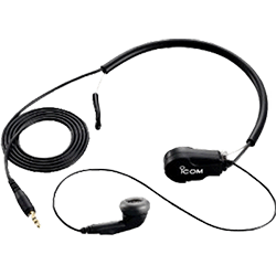 Icom Headset w- Throat Mic for M72