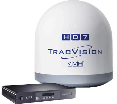 KVH TracVision HD7, Tri-Americas, 32