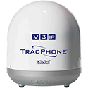 KVH TracPhone V3-IP, White Base