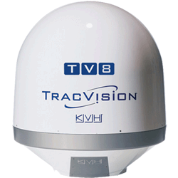 KVH TracVision TV8 Empty Dome