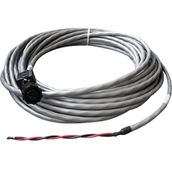 KVH TracVision M5 M7 HD7 Power Cable, 150'