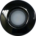 Lumitec Orbit Flush Mount, Black, Wht+Rd+Blu+Vio