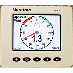 Maretron DSM250 Color LCD Display - White