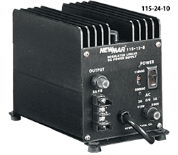 Newmar Power Supply, 115VAC/24VDC 10 Amp