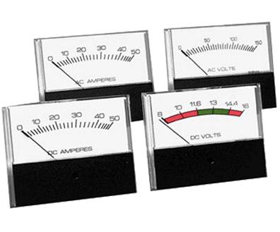 Newmar Analog AC Voltmeter, 3.5