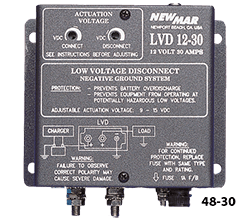 Newmar Low Voltage Disconnect, 48V, 30 Amp