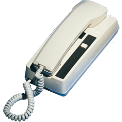 Newmar 2 Station Phone Com Handset, White