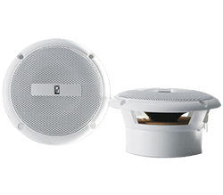 Poly-Planar 3 Flush Mount Speaker, White, 60 Watt