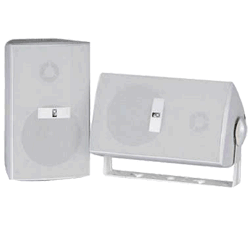Poly-Planar 3 2-Way Box Speaker 60 Watt White