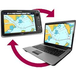 Raymarine Voyager Planner Route Creation Software