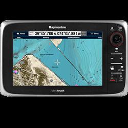 Raymarine e97 9 MFD-Sonar w-US Coastal Charts