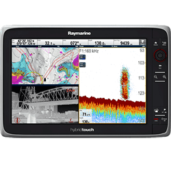 Raymarine e165 MFD w/ C-Map ROW Essentials