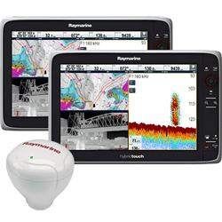Raymarine e165 MFD Dual Station Bundle w/ GPS Ant.