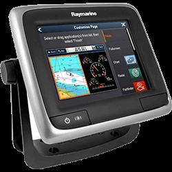 Raymarine a65 MFD WiFi without Charts