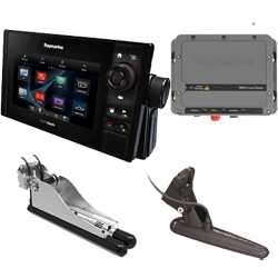Raymarine eS78 CHIRP Down/Sidevision System Pack