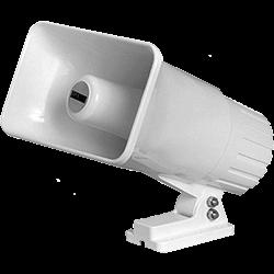 Speco Alarm Siren, 5 x 8 Dual Tone