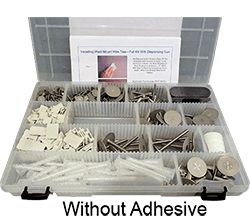 Weld Mount Executive Fastener Kit w/o adhesive